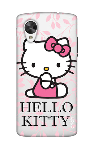 Hello Kitty Floral Nexus 5 Cases & Covers Online
