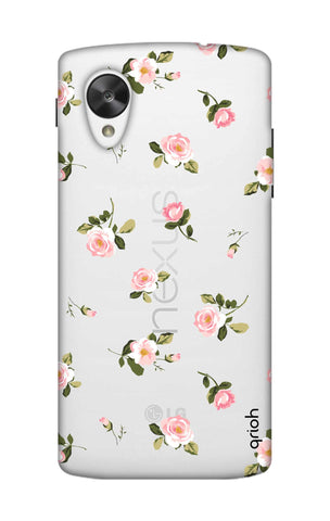 Pink Rose All Over Nexus 5 Cases & Covers Online