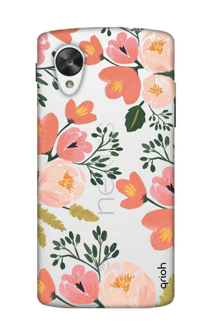 Painted Flora Nexus 5 Cases & Covers Online