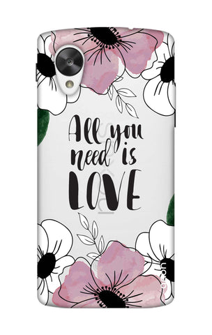 All You Need is Love Nexus 5 Cases & Covers Online