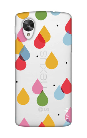Colourful Drops Nexus 5 Cases & Covers Online