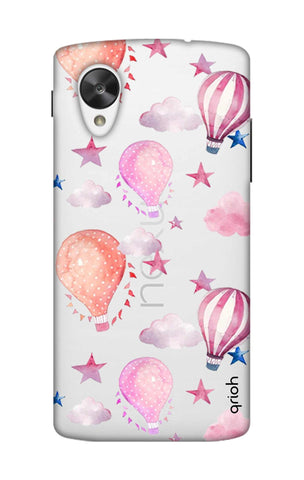 Flying Balloons Nexus 5 Cases & Covers Online