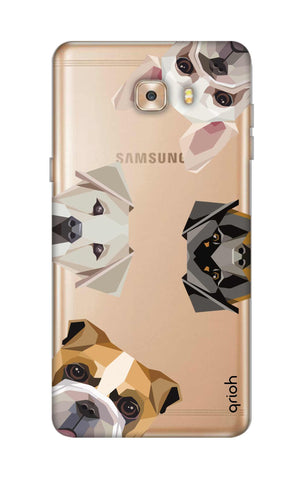 Geometric Dogs Samsung C9 Cases & Covers Online