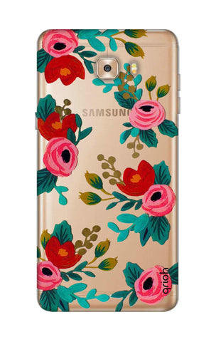 Red Floral Samsung C9 Cases & Covers Online