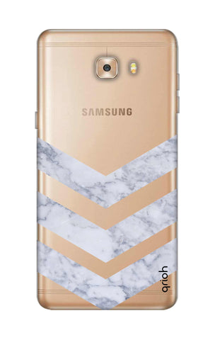 Marble Chevron Samsung C9 Cases & Covers Online