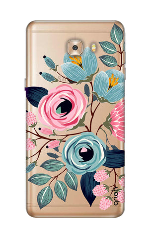 Pink And Blue Floral Samsung C9 Cases & Covers Online