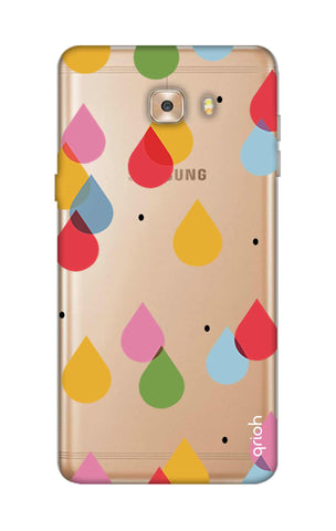 Colourful Drops Samsung C9 Cases & Covers Online