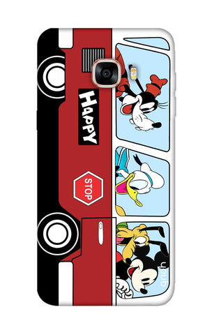 Cartoon Bus Samsung C5 Cases & Covers Online