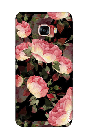 Watercolor Roses Samsung C5 Cases & Covers Online