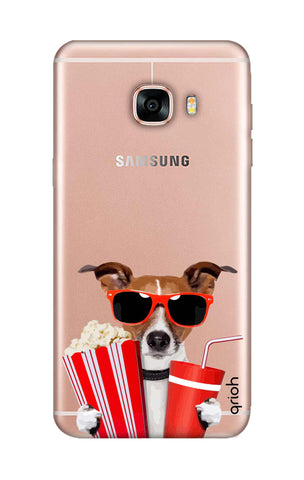 Dog Watching 3D Movie Samsung C5 Cases & Covers Online