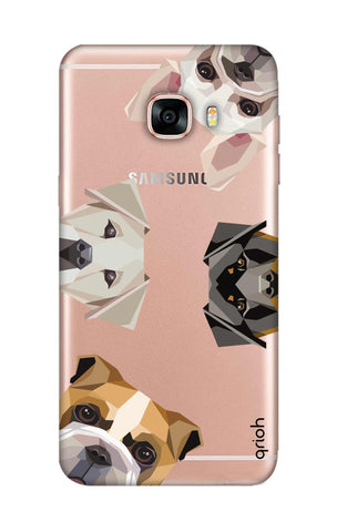 Geometric Dogs Samsung C5 Cases & Covers Online