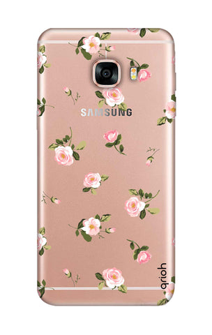 Pink Rose All Over Samsung C5 Cases & Covers Online
