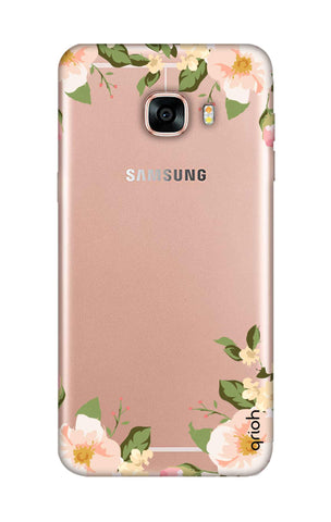 Flower In Corner Samsung C5 Cases & Covers Online