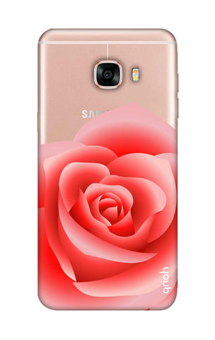 Peach Rose Samsung C5 Cases & Covers Online