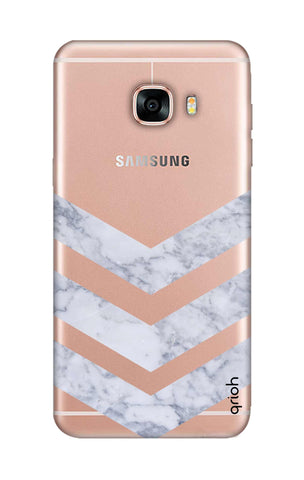 Marble Chevron Samsung C5 Cases & Covers Online