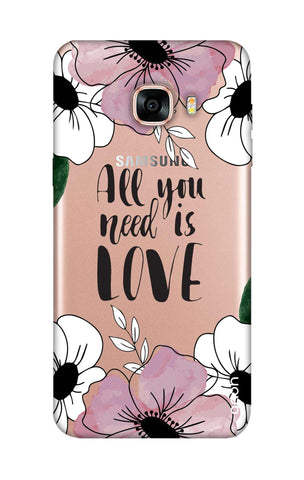 All You Need is Love Samsung C5 Cases & Covers Online