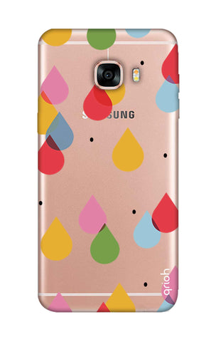 Colourful Drops Samsung C5 Cases & Covers Online