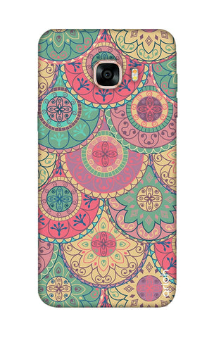 Colorful Mandala Samsung C7 Cases & Covers Online