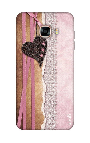 Heart in Pink Lace Samsung C7 Cases & Covers Online