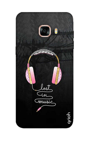 Lost In Music Samsung C7 Cases & Covers Online