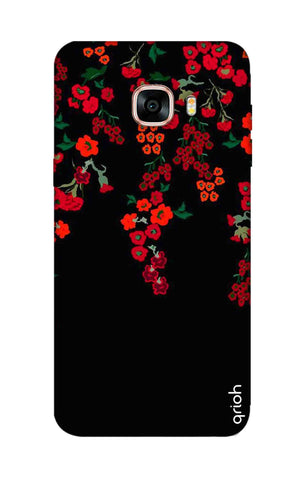 Floral Deco Samsung C7 Cases & Covers Online