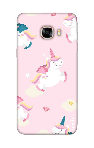 Flying Unicorn Samsung C7 Cases & Covers Online