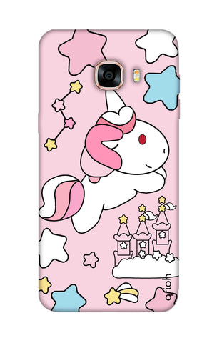 Unicorn Doodle Samsung C7 Cases & Covers Online
