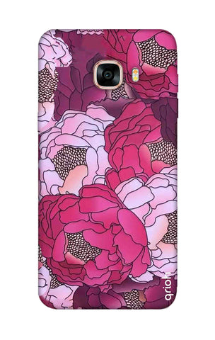 Vector Floral Samsung C7 Cases & Covers Online