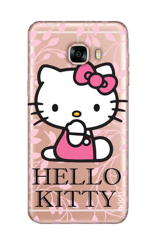 Hello Kitty Floral Samsung C7 Cases & Covers Online