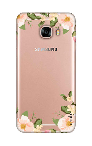 Flower In Corner Samsung C7 Cases & Covers Online