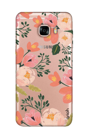 Painted Flora Samsung C7 Cases & Covers Online