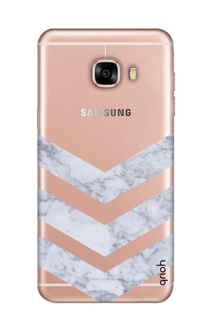 Marble Chevron Samsung C7 Cases & Covers Online