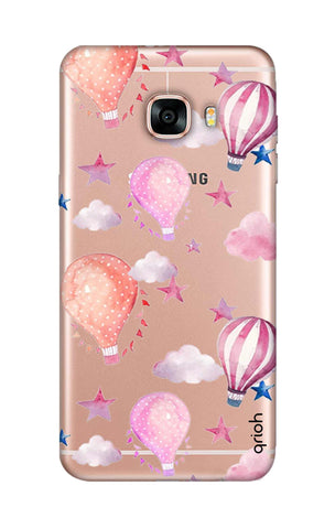 Flying Balloons Samsung C7 Cases & Covers Online