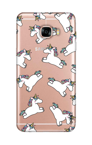 Jumping Unicorns Samsung C7 Cases & Covers Online
