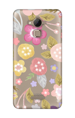 Multi Coloured Bling Floral Coolpad Note 3 Cases & Covers Online
