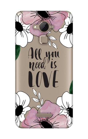 All You Need is Love Coolpad Note 3 Cases & Covers Online