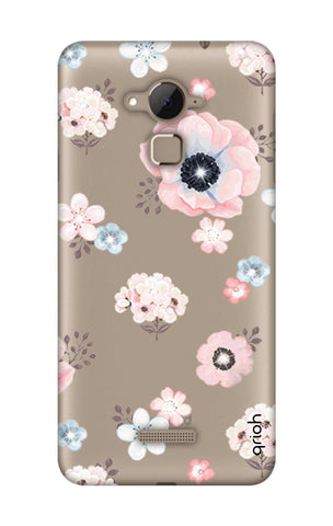 Beautiful White Floral Coolpad Note 3 Cases & Covers Online