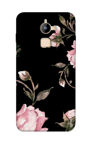Pink Roses On Black Coolpad Note 3 Lite Cases & Covers Online