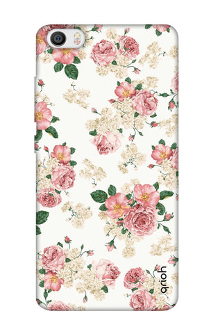 Floral Pattern Xiaomi Mi 5 Cases & Covers Online