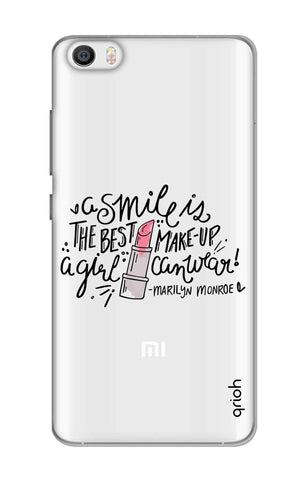 Make Up Smile Xiaomi Mi 5 Cases & Covers Online