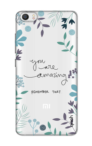 You're Amazing Xiaomi Mi 5 Cases & Covers Online