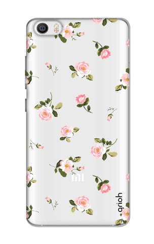 Pink Rose All Over Xiaomi Mi 5 Cases & Covers Online