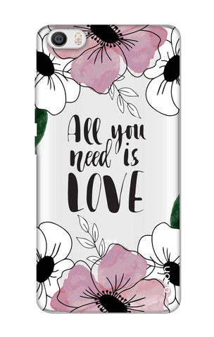 All You Need is Love Xiaomi Mi 5 Cases & Covers Online