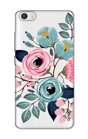 Pink And Blue Floral Xiaomi Mi 5 Cases & Covers Online