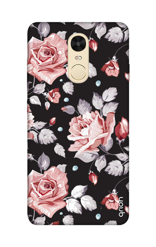 new product 809cc ef4ab Shabby Chic Floral Case for Xiaomi RedMi Note 4