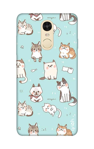 Cat Kingdom Xiaomi RedMi Note 4 Cases & Covers Online