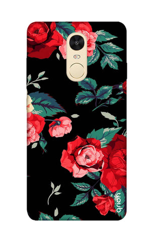 Wild Flowers Xiaomi RedMi Note 4 Cases & Covers Online