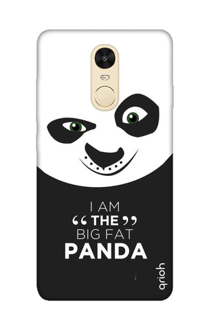 Big Fat Panda Xiaomi RedMi Note 4 Cases & Covers Online