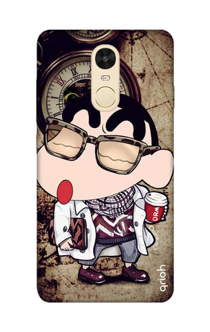 Nerdy Shinchan Xiaomi RedMi Note 4 Cases & Covers Online