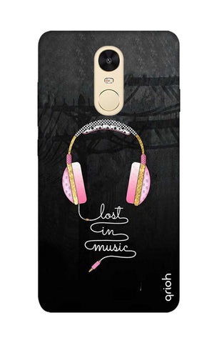 Lost In Music Xiaomi RedMi Note 4 Cases & Covers Online